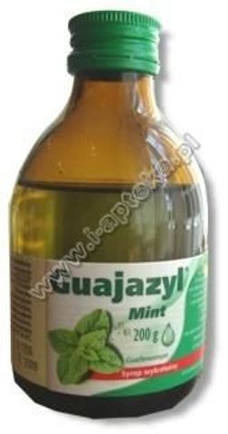 GUAJAZYL Mint syrop 200ml