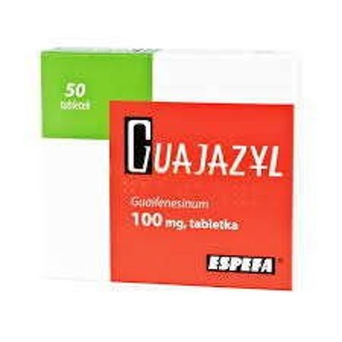 Guajazyl 100mg x 50 tabletek