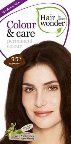 HAIRWONDER Colour & Care Farba do włosów 3.37 Espresso 100ml