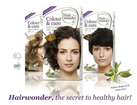 HAIRWONDER Colour & Care Farba do włosów 6.35-HAZELNUT 100ml