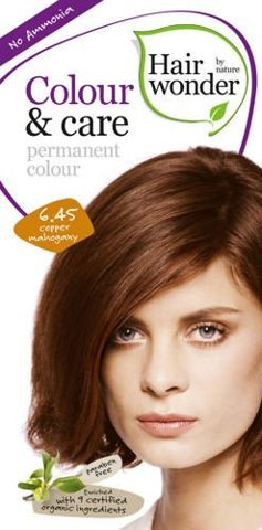 HAIRWONDER Colour & Care Farba do włosów 6.45 Copper Mahogany 100ml