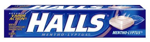 HALLS MENTHO-LYPTUS 33,5g