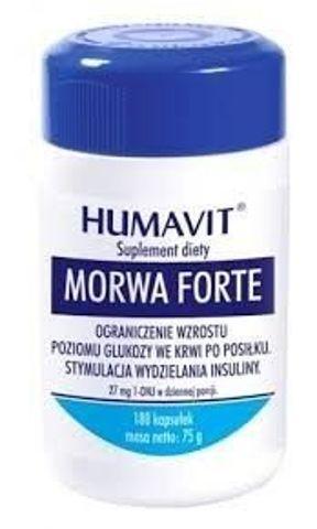 HUMAVIT MORWA FORTE x 180 kapsułek