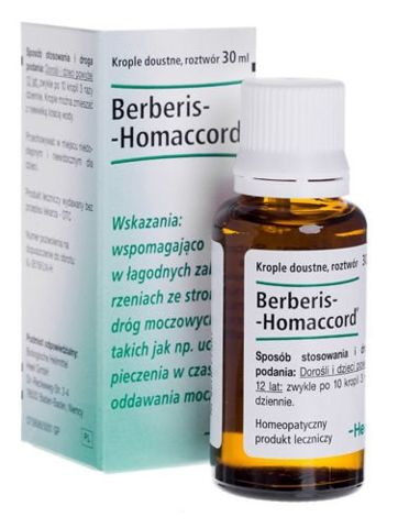 Heel berberis homaccord krople 30ml
