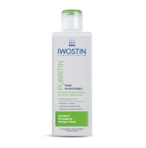 IWOSTIN PURRITIN Tonik oczyszczający 240ml