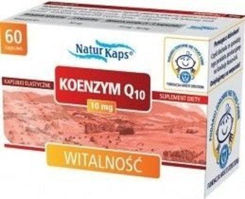 KOENZYM Q10 Naturkaps 10mg x 60 kapsułek