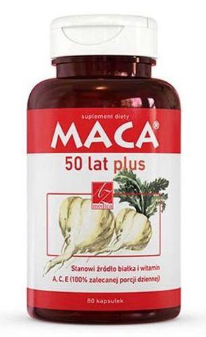 MACA 50 lat Plus x 80 kaps.