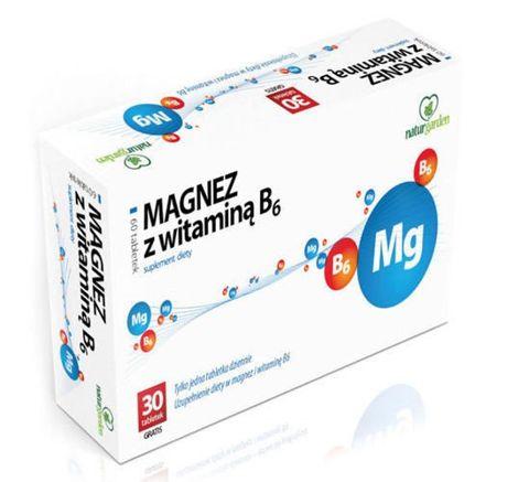 MAGNEZ z witaminą B6 x 60 tabletek