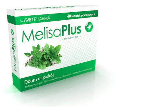 MELISA PLUS x 40 tabletek