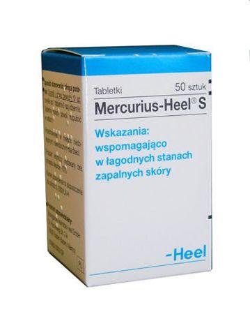 MERCURIUS-HEEL S x 50 tabletek