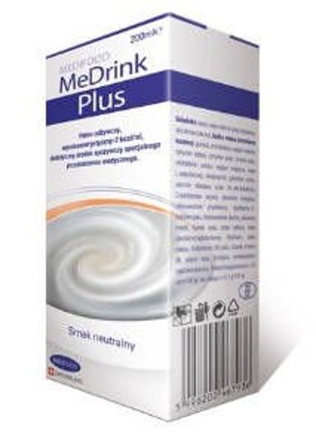 MeDrink Plus płyn smak neutralny 200ml