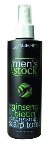 Men's Stock Krok 3 Rewitalizujący tonik do skóry głowy z Żeń-Szeniem i Biotyną dla mężczyzn 237ml