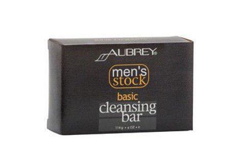 Men's stock Mydło w kostce do twarzy i ciała o łagodnym miętowym zapachu dla mężczyzn 114g