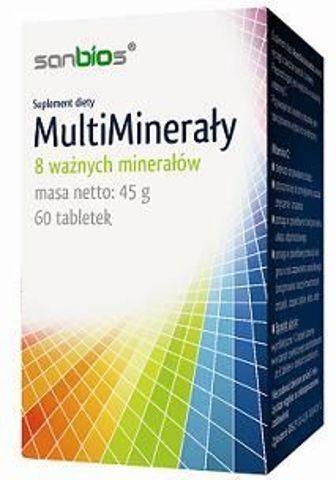 MultiMinerały x 60 tabletek