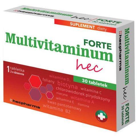 Multivitaminum hec Forte x 30 tabletek