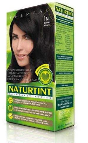 NATURTINT Farba do włosów 1N Ebony Black 150ml