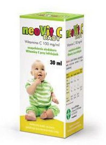 NEOVIT C BABY krople 100mg/ml 30ml
