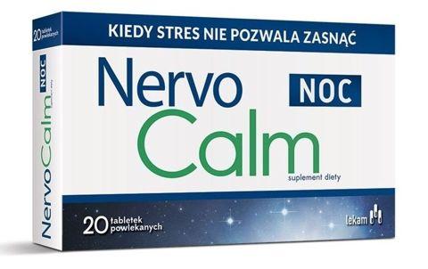 NERVOCALM NOC x 20 tabletek powlekanych