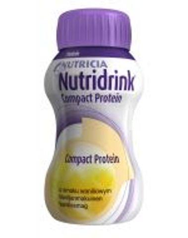 NUTRIDRINK COMPACT PROTEIN o smaku waniliowym 125ml x 4 sztuki