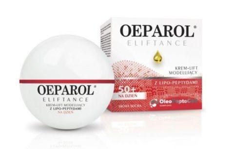 OEPAROL ELIFTANCE Krem-Lift modelujący z lipo-peptydami 50ml dla skóry normalnej i mieszanej