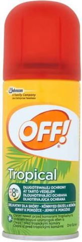 OFF! Tropical suchy aerozol 100ml