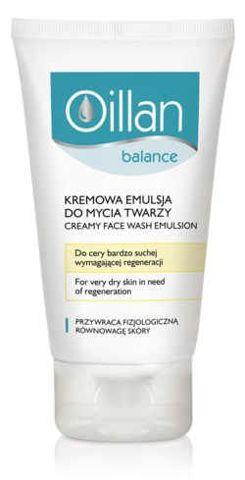 OILLAN BALANCE Kremowa emulsja do mycia twarzy 150ml