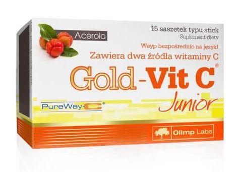 OLIMP Gold-Vit C Junior x 15 saszetek