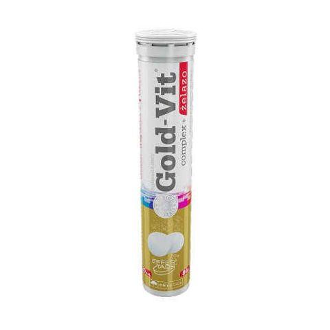 OLIMP Gold-Vit Complex + Żelazo x 20 tabletek musujących