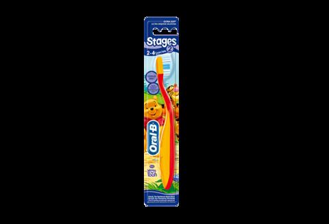 ORAL-B Szczoteczka do zębów Stages 2 (dzieci od 2 do 4 lata) x 1szt.