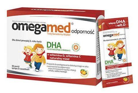 Omegamed Odporność x 30 saszetek
