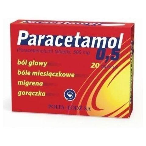 PARACETAMOL x 20 tabletek