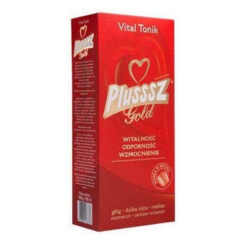 PLUSSSZ GOLD VITAL Tonik 900ml