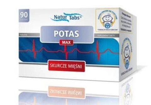 POTAS MAX NATURTABS x 90 tabletek