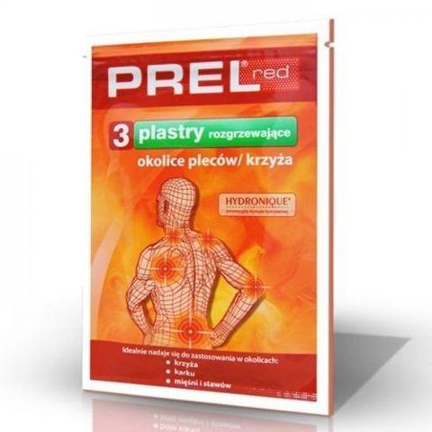 PREL Red plaster rozgrzewający 3sztuki
