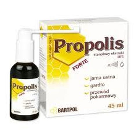 PROPOLIS FORTE 10% roztwór etanolowy 45ml