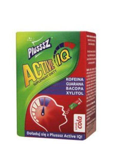 Plusssz Active IQ smak cola 1g x 10 saszetek