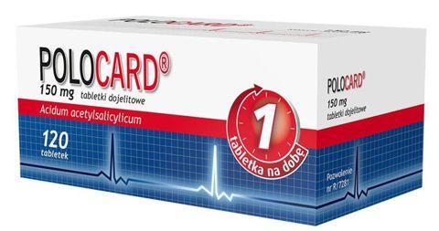 Polocard 0,15g x 120 tabletek
