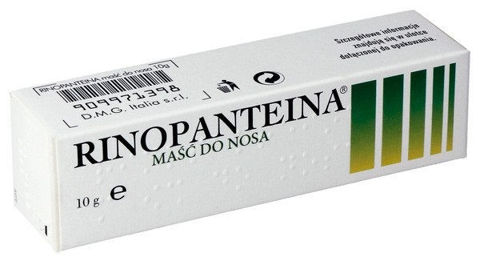 RINOPANTEINA Maść do nosa 10g