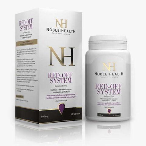 Red Off System Noble Health x 60 tabletek