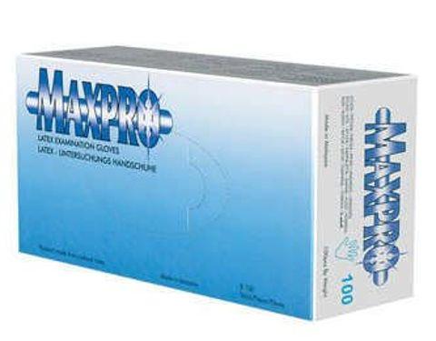 Rękawice Max-Pro latex rozmiar M x 100 sztuk