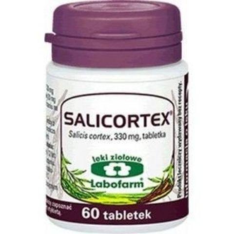 SALICORTEX 0,33g x 60 tabletek