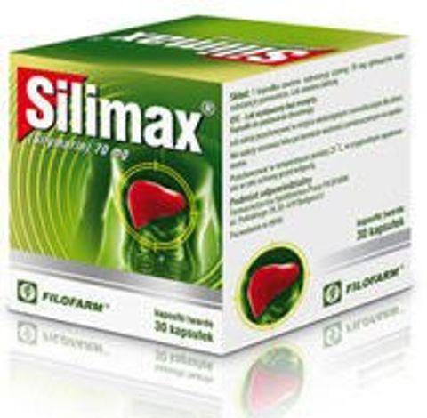 SILIMAX 70mg x 30 kaps.