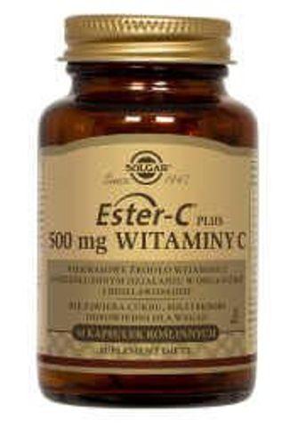 SOLGAR Ester - C Plus 500mg Wtaminy C x 50 kapsułek