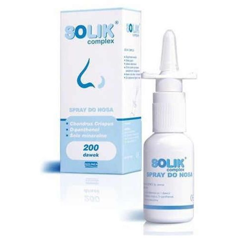 SOLIK spray 200 dawek 20ml
