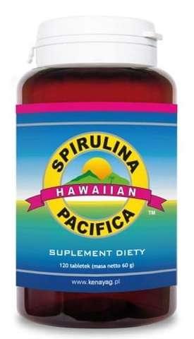 SPIRULINA PACIFICA 500mg x 120 tabletek