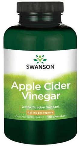 SWANSON Apple Cider Vinegar 625mg x 180 kapsułek