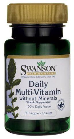 SWANSON Daily Multi-Vitamin x 30 kapsułek