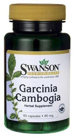SWANSON Garcinia Cambogia 5:1 Extract 80mg x 60 kapsułek