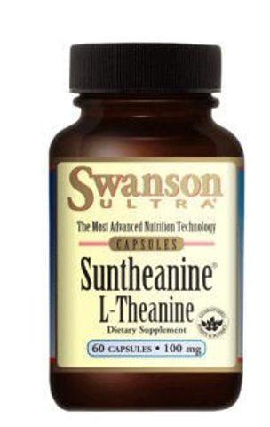 SWANSON L-Teanina Suntheanine 100mg x 60 kapsułek