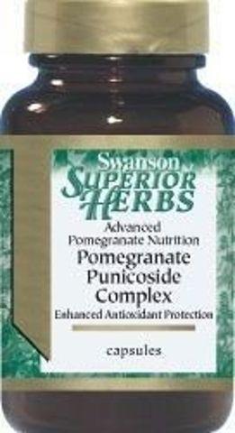 SWANSON Pomegranate complex (Granat) x 60 kapsułek